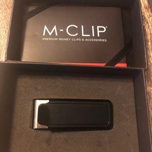 Brand New M-clip Money Clip Black